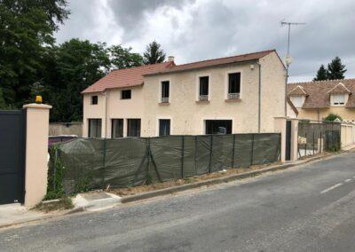 Rénovation et agrandissement d'une maison